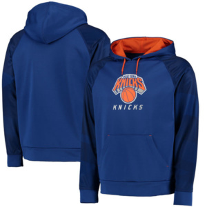 New York Knicks Armor II Therma Base Raglan Pullover Hoodie
