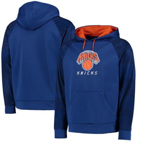 New York Knicks Armor II Therma Base Raglan Pullover Hoodie