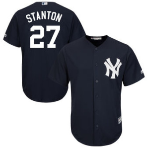 New York Yankees Giancarlo Stanton jerey