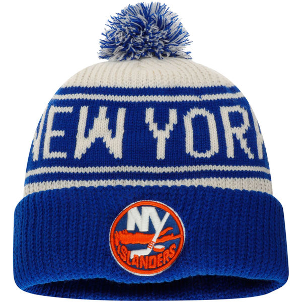 2d0d493081c New York Islanders Cuffed Knit Hat with Pom- NY Sports Shop