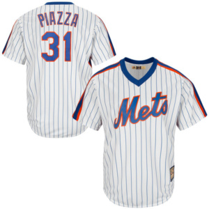Mike Piazza Mets Cool Base Cooperstown Collection Player Jersey