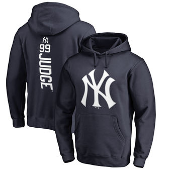 Aaron Judge Navy New York Yankees Backer Pullover Hoodie