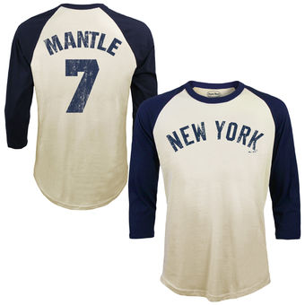 Mickey Mantle Softhand Cotton Cooperstown T-SHIRT