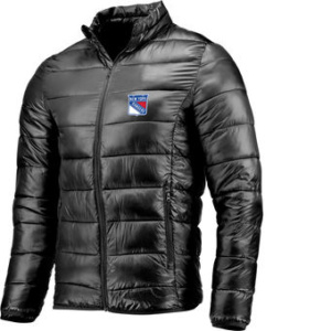 New York Rangers Polyester Puffer Jacket