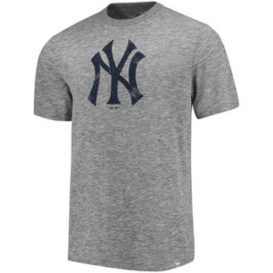New York Yankees Fast Pitch Tri-Blend Slub T-Shirt