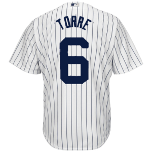 NY Yankees Replica Joe Torre Home Jersey