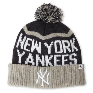'47 BRAND New York Yankees Pom-Pom Linesman Knit