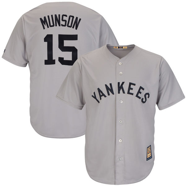 premium selection 54e2f efe3d New York Yankees Cool Base Cooperstown Collection Player Jersey-Thurman  Munson