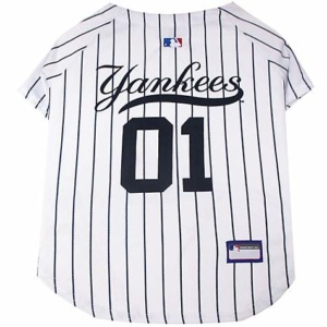 Pets First New York Yankees Jersey, Medium