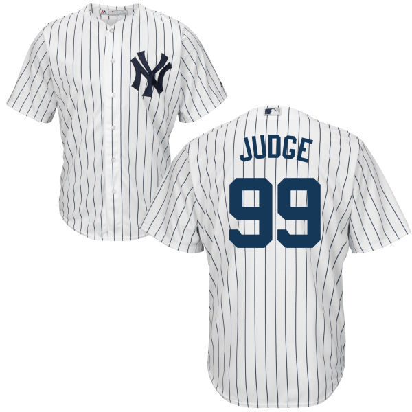 4fc60062bc8 Aaron Judge Youth Jersey - NY Yankees Replica Kids Home Jersey - NY ...