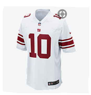 NEW YORK GIANTS GAME JERSEY (ELI MANNING)