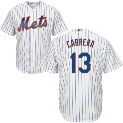 NY Mets Replica Adult Home Jersey Asdrubal Cabrera