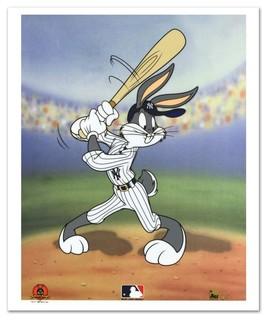 """Bugs Bunny at Bat for Yankees"""