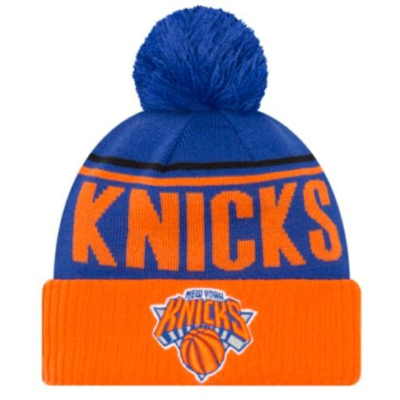 NEW YORK KNICKS Men's Available Colors: 5 NEW ERA NBA CHEER KNIT
