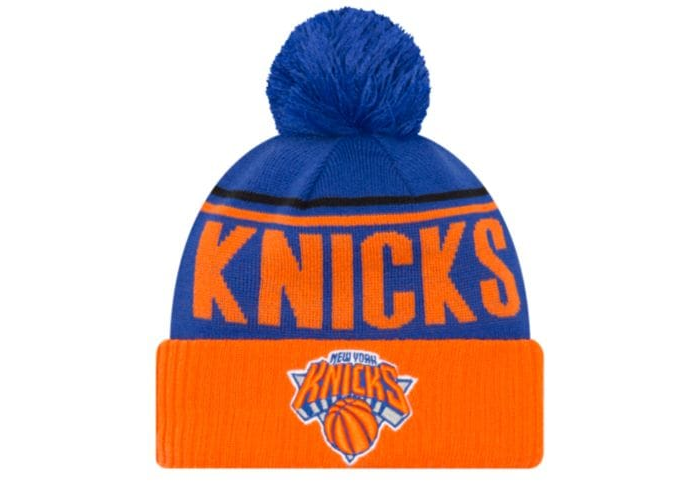 f1d83e46593 NEW YORK KNICKS Men s Available Colors  5 NEW ERA NBA CHEER KNIT