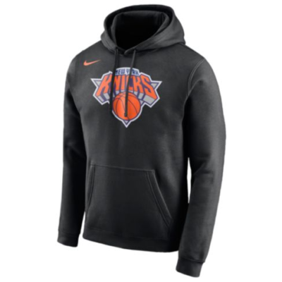 NEW YORK KNICKS Men's Available Colors: 49 NIKE NBA CLUB LOGO HOODIE