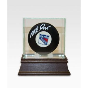 Mike Richter Autographed New York Rangers Hockey Puck