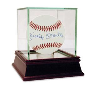 Mickey Mantle Single Signed AL Baseball
