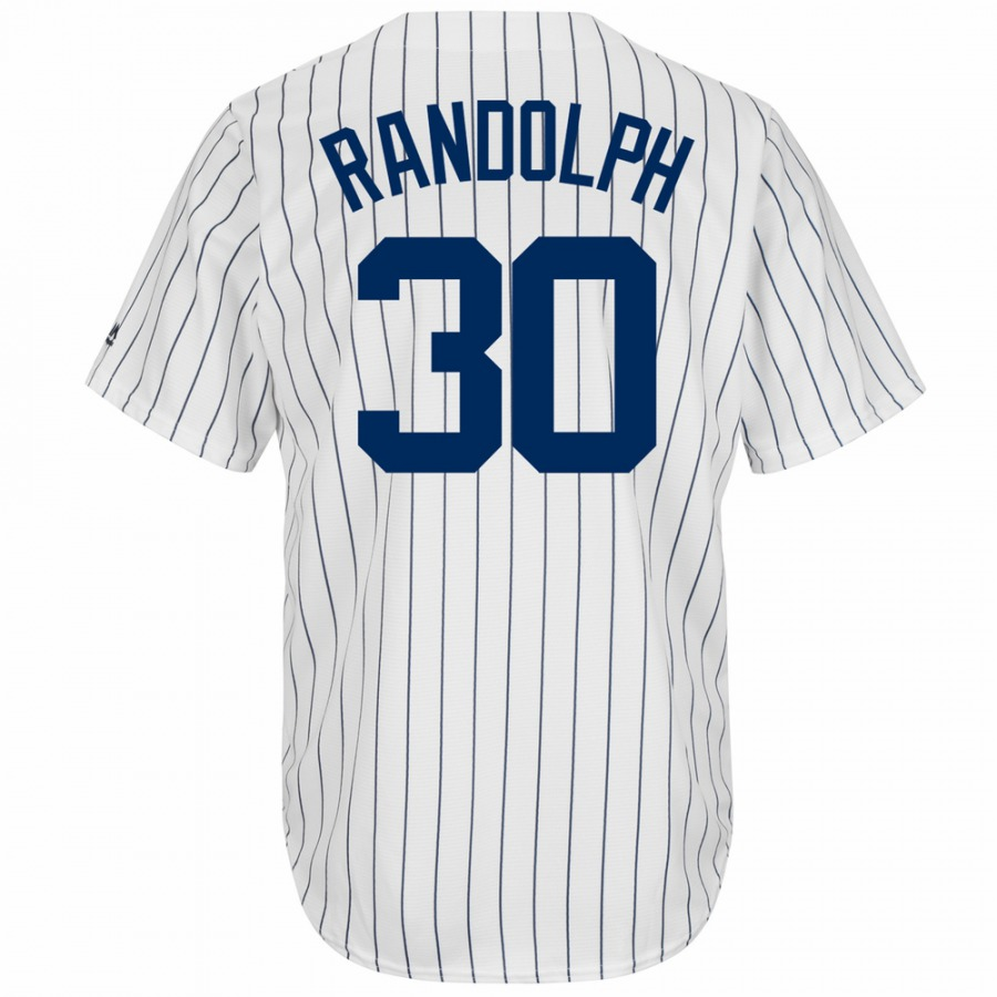 New York Yankees Willie Randolph Cooperstown Replica Baseball Jersey ... 09d5694fba9
