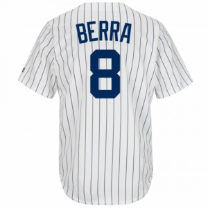 New York Yankees Yogi Berra Cooperstown Replica Baseball Jersey