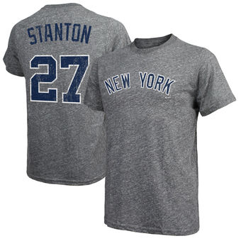 buy online 7794e a83ee Men's Majestic Threads Giancarlo Stanton New York Yankees ...