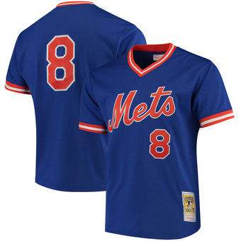 New York Mets Gary Carter Batting Practice Jersey