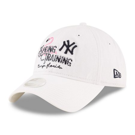 7b41b6147a5 Women s New Era White New York Yankees 2018 Spring Training Prime ...