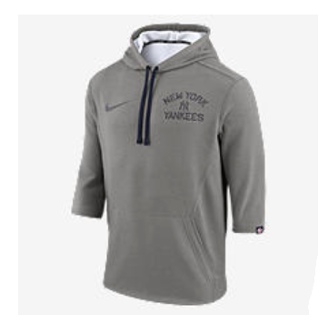 quality design 867bf fd154 NIKE (YANKEES) Men's 3/4 Sleeve Hoodie-