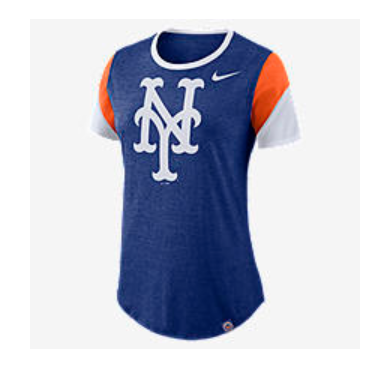 nike mets womens t-shirt