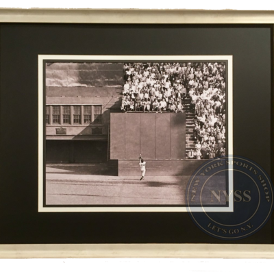 Willie Mays' over-the-shoulder catch in 1954 World Series —