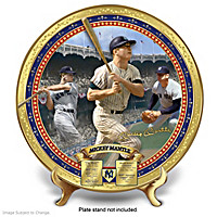 Item no:127226001 Mickey Mantle Commemorative Porcelain Collector Plate
