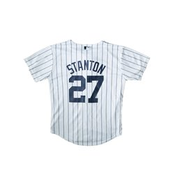100% authentic c9abf d5ecd Giancarlo Stanton (NY YANKEES) Cool Base Replica Player Jersey from  Majestic.- JRS