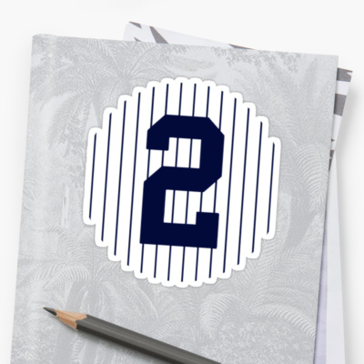 Derek Jeter #2 Stickers