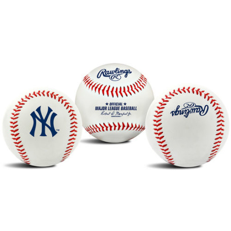 New York Yankees Logo Baseball
