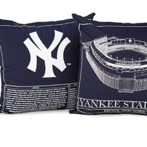 YANKEE STADIUM BLUEPRINT PILLOW