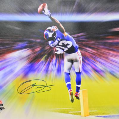 Odell Beckham Jr. Autographed JSA 3 PHOTO