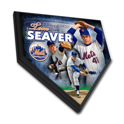 NY METS TOM SEAVER PLAQUE