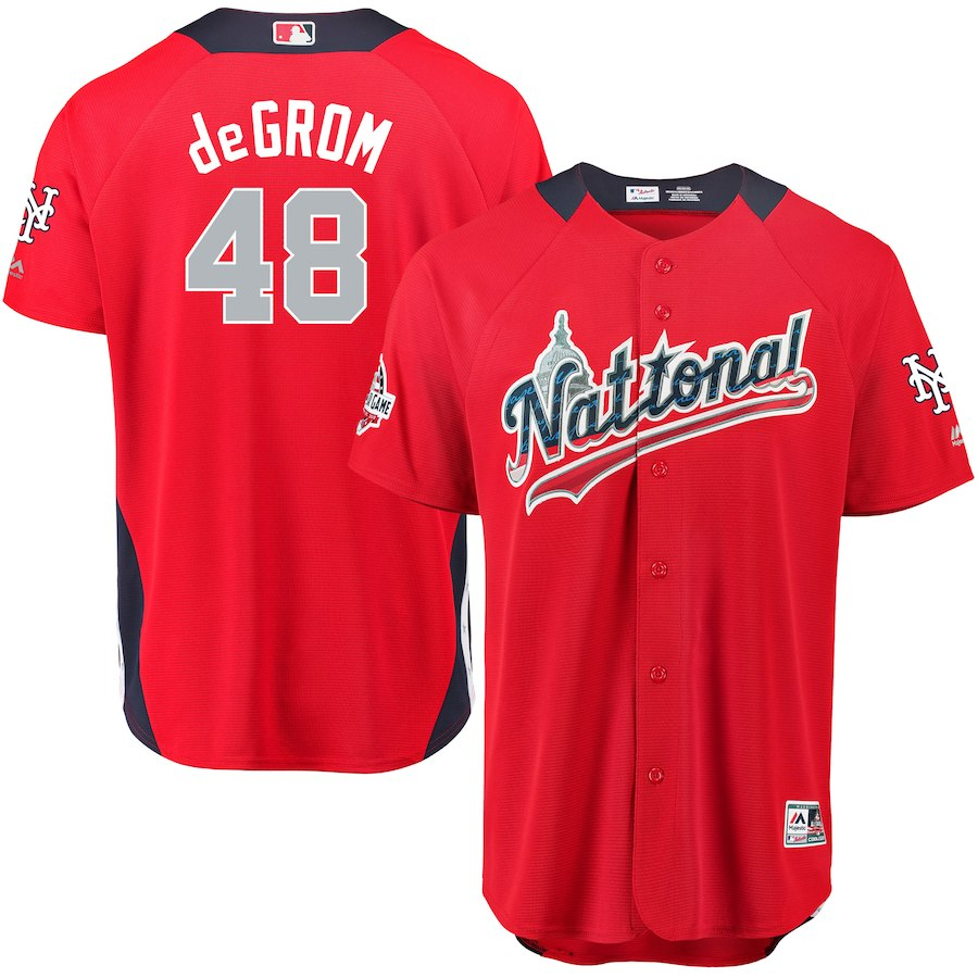 deGrom all star jersey