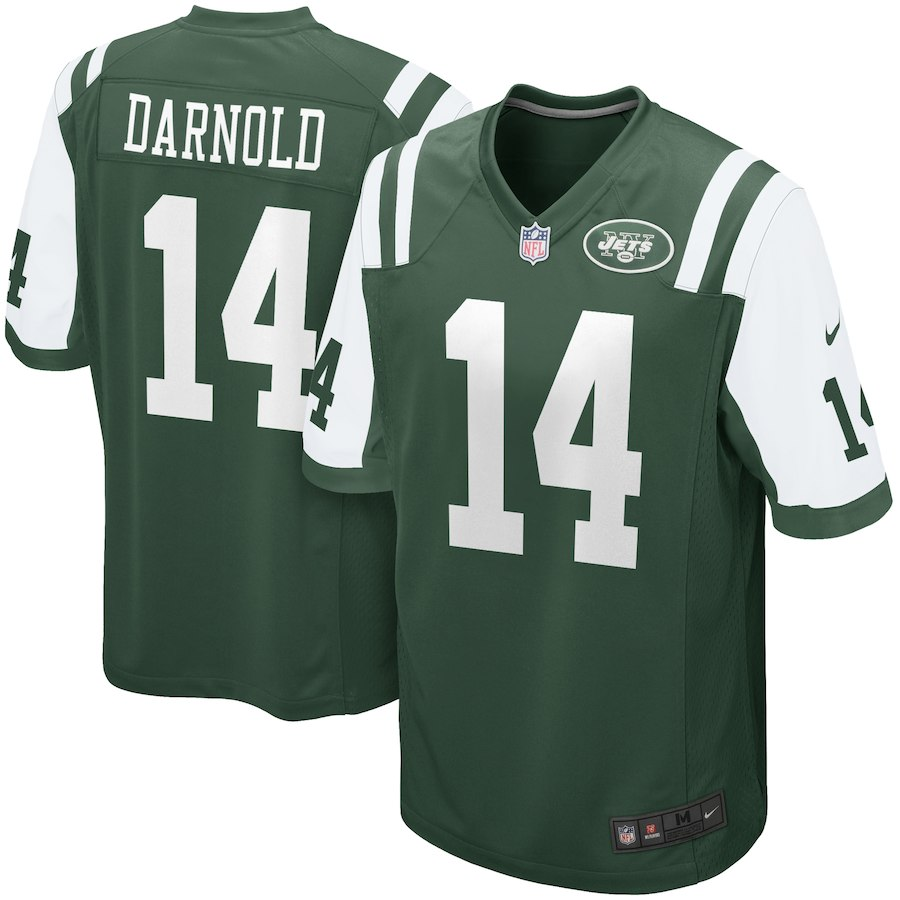 best service d5f80 b4d89 Sam Darnold New York Jets Nike 2018 NFL Draft First Round Pick Game Jersey –