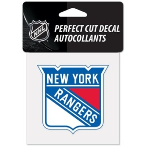 NY RANGERS CAR DECAL