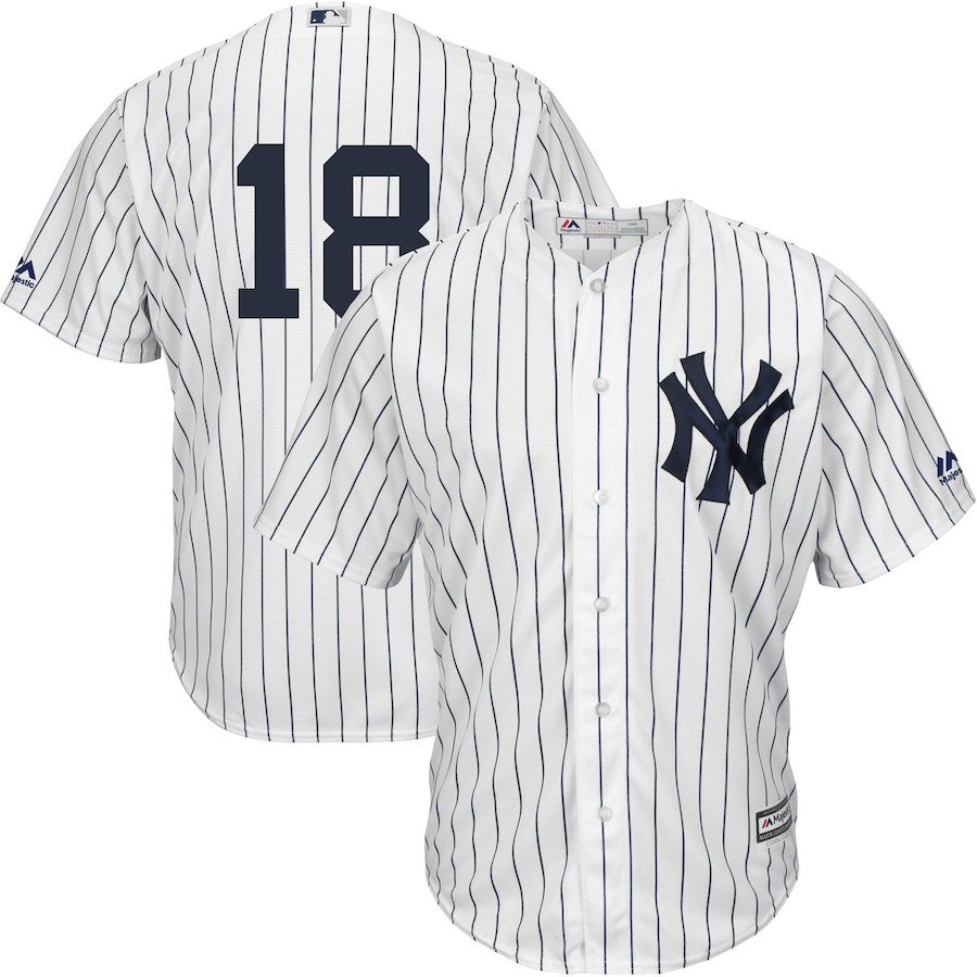 low priced acf24 d9823 Didi Gregorius New York Yankees Majestic Home Official Cool Base Replica  Player Jersey -