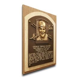 Tom Seaver New York Mets Hall of Fame Plaque Canvas-