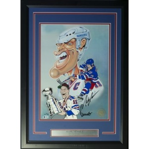 MARK MESSIER LITHOGRAPH