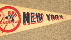NEW YORK YANKEES FELT PENNANT