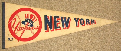 NEW YORK YANKEES FELT PENNANT