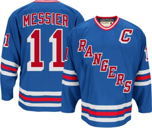 free shipping a6234 9ca14 adidas Men's New York Rangers Mark Messier #11 Home Jersey