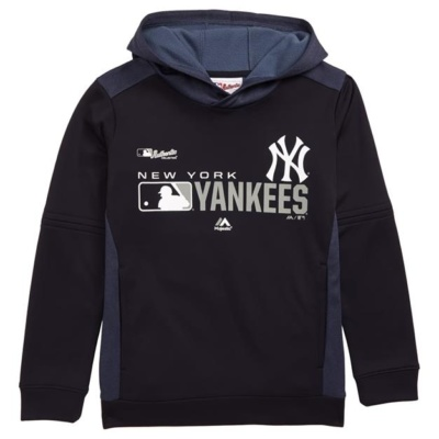 NY YANKEES PULLOVER HOODED SWEATSHIRT-KIDS
