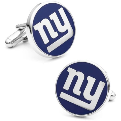NY GIANTS CUFF LINKS