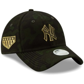 Honor those who serve in the U.S. Armed Forces as you cheer on your New York Yankees with this 2019 MLB Armed Forces Day 9TWENTY Adjustable Hat