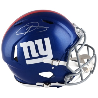 Odell Beckham Jr. New York Giants Fanatics Authentic Autographed Riddell Speed Pro-Line Helmet